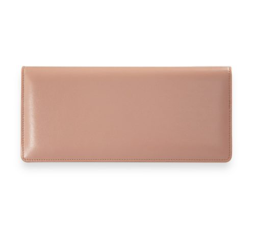 Studio Jetset Nude Leather Passport Cover