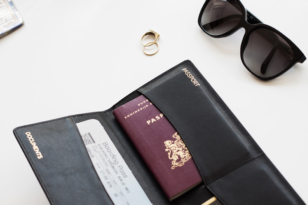 Studio Jetset Travel Essentials Passport Cover