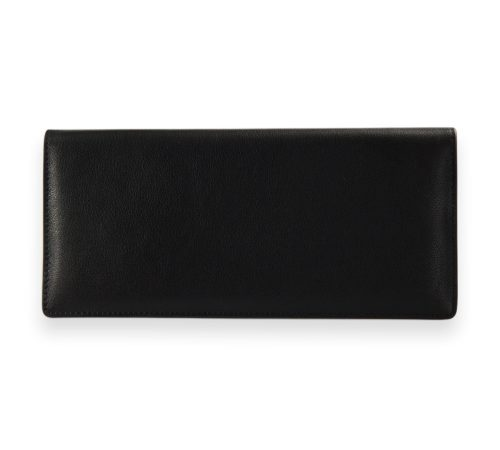 Studio Jetset Black Leather Passport Cover